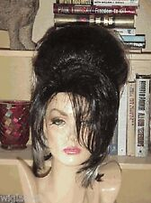 **EMPRESS BIANCA WIGS DRAG QUEEN LONG SASSY BLACK WHITE