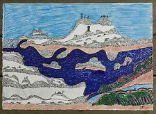 WHERE I CAME FROM  INUIT DRAWING SIMON TOOKOOME BAKER LAKE INUIT ART