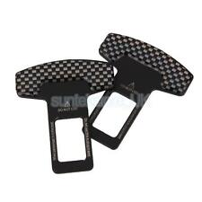 2X Seat Belt Buckle Guard Car Seatbelt Safety Cover Stopper Alarm Canceler
