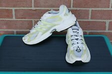 ADIDAS Mens Adiprene BOSTON White/Yellow Running Shoes Size 9.5
