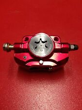 PM TUNING RED FORGED MONO BILLET BRAKE CALIPER  VESPA PX T5 LML 125 150 200