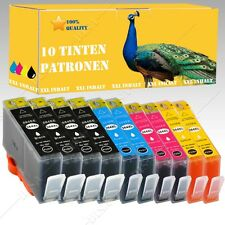 10x Nicht-OEM Druckerpatronen alternative für HP Photosmart e-All-in-One B110A