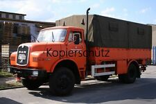 Truck Photo - Lkw Foto MAN Kurzhauber 13.168   /290