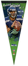Russell Wilson SIGNATURE SERIES Seattle Seahawks Premium Felt Collectors Pennant