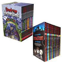 Goosebumps HorrorLand Series & Scream Street Collection 23 Books Set Pack NEW