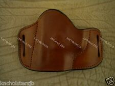 American Pride Belt Slide Cross Draw Leather Holster Left Hand Tan XLarge