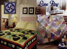 Card Tricks All Around & Love Ring   Quilt (pattern Only)