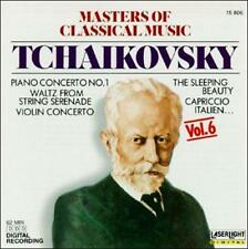 Masters of Classical Music, Vol. 6: Tchaikovsky (CD, Oct-1990, Laserlight)