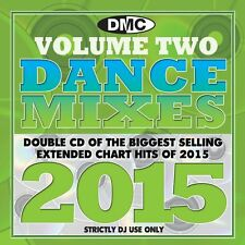 DMC DJ Only Dance Mixes 2015 Vol 2 Dance Music Double CD Set