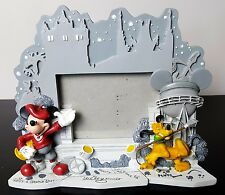 Walt Disney Attractions Mickey Mouse Pluto Walk of Fame Ceramic Picture Frame