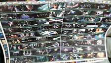 2 STAR WARS RETURN OF THE JEDI press sheets uncut large Cards TOPS VERY RARE