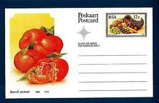 SOUTH AFRICA - SUD AFRICA - RSA - 1982 - Cart. Post. - Frutta locale: Mandarini