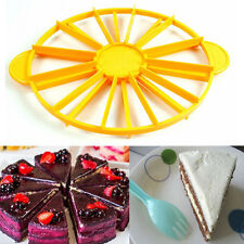 Pie Cake 10 / 12 Piece Slice Equal Portion Marker Divider Cutter Birthday Party