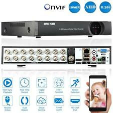 16CH CCTV HDMI AHD TVI DVR HVR NVR Full 1080N P2P Security Camera System EU C7D1