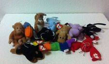 LOT OF 10 MCDONALD'S RARE 1993 TEENIE BEANIE BABIES SPECIAL EDITION + ONE EXTRA