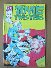 TIME TWISTERS - USA QUALITY COMIC - No 4