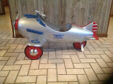 1941 MURRAY STEELCRAFT PURSUIT ARMY AIRPLANE NEW/ WITH SCRATCH ON RIGHT SIDE