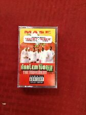 MASE PRESENTS HARLEM WORLD MOVEMENT 1999 HIP HOP CASSETTE TAPE NEW SEALED