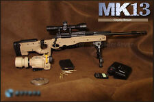 "1/6 scale USMC Weapon Sniper Rifle MK13 Desert Fit 12"" figure"