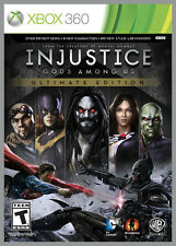 INJUSTICE GODS AMONG US ULTIMATE EDITION XBOX 360! BATMAN, SUPERMAN, ZOMBIE FUN!