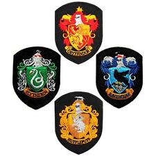 4 Harry Potter GRYFFINDOR Slytherin Ravenclaw HUFFLEPUFF Hogwarts Lot set PATCH
