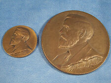 2 1925 Larkin Soap Co Julio Kilenyi Whitehead Hoag Advertising Bronze Medal Coin