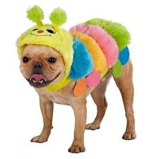 Plush Colorful Caterpillar Costume for Dogs XL X-Large Halloween Dog