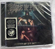 Cradle Of Filth: Hammer Of The Witches Ltd Ed. CD punched barcode cracked case