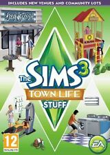 The Sims 3: Town Life Stuff - PC MAC - expansion pack - fast free post