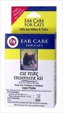 RICH HEALTH R7 CAT EAR MITE TREATMENT KIT CLEANER GIMBORN FREE SHIP TO THE USA