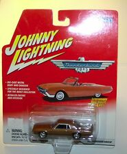 Johnny Lightning 2002 Legendary Bad Birds 1967 Thunderbird Hardtop Brown