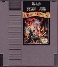 BATTLE CHESS CLASSIC SYSTEM NINTENDO GAME ORIGINAL NES HQ