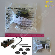 New LEGO TECHNIC Power FunctionsTrain Motor 88002 - Railroad Track