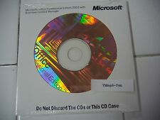Microsoft Office 2003 Professional Full Version MS Pro =NEW SEALED=