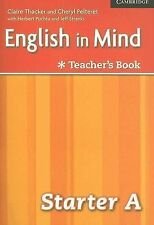 English in Mind Starter A Combo Teacher's Book, Pelteret, Cheryl, Thacker, Clair