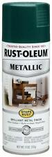 Rust-Oleum 7252830 Stops Rust Metallic Spray Paint - Racing Green