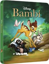 Bambi Limited Collectible Steelbook (Blu-Ray Movie) Brand New Sealed