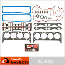96-02 Chevrolet GMC Cadillac 5.7L V8 Vortec OHV New Head Gasket Kit Set VIN R