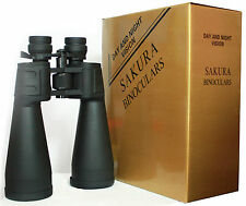 Travel Mega Zoom Full Sports Binoculars 20x180x100 Power Bird Watch UK Seller