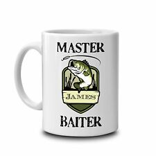 Master Baiter fun rude mug-novelty mug-fishing mug-personalised mug-fishing gift