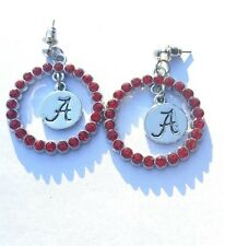 New Alabama Red Crystals Earrings