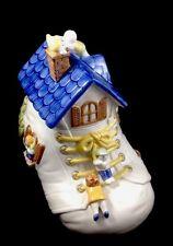 """Vintage Fitz & Floyd """"Old Woman In A Shoe"""" 1986 Cookie Jar"""