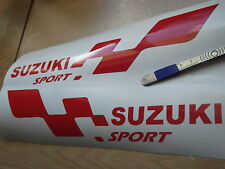 SUZUKI sport  LARGE car vinyl sticker decal x2