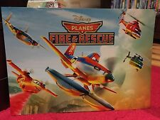 Disney Store Authentic Planes Fire & Rescue - Set of 4 Lithographs in folder NEW