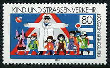 Germany 1398, MNH. Children and road safety, 1983