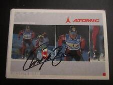 17174 Bieler Nordische Kombination Wintersport original signierte Autogrammkarte