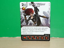 DICE MASTERS MARVEL Avengers vs. X-Men - Carta de Black Widow 036 (only card)