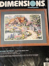 DIMENSIONS NEEDLEPOINT - COTTAGE RETREAT - By  BARBARA MOCK
