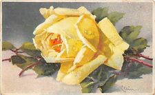 BG33625 rose flower catharina klein nice artist signed