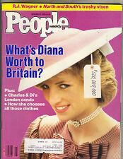 PRINCESS DIANA People Magazine 11/11/85 WORTH TO BRITAIN?